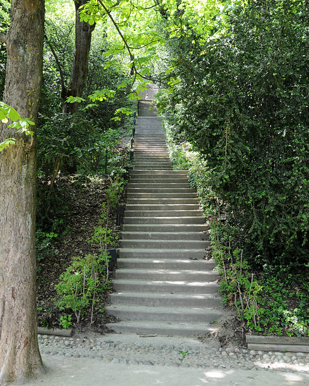 Escalier jardin du rosaire lyon 5 me - Escalier jardin ...